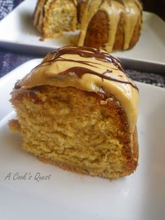 Peanut Butter Pound Cake - Another pinner said... Made this yesterday and it is DELICIOUS ... perfect pound cake texture with a little crunch to the top layer. It reminded me of a soft peanut butter cookie. The frosting was a bit on the sweet side for me but still very delicious .. a hit with my family! ♥