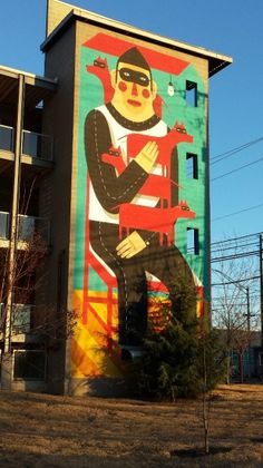 Street Art - Reynoldstown - The City dweller (1)