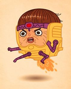 MODOK! Artist Mike Mitchell Makes Marvel Characters Incredibly Cute