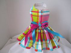 Dog Dress XS  Spring    By Nina's Couture by NinasCoutureCloset, $30.00