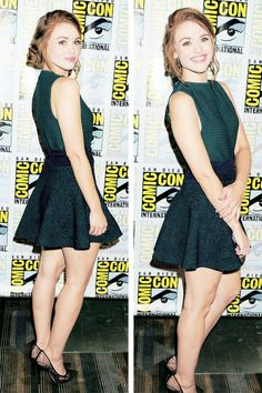 Holland Roden at Comic-Con International 2014 at Hilton Bayfront on July 25, 2014 in San Diego, California.