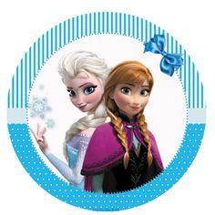 Frozen – Kit festa infantil grátis para imprimir – Inspire sua Festa ®