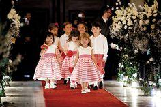 Dama de honra e pajem do casamento de Maria Claudia e Fernando, publicado no Euamocasamento.com. As fotos são de Ribas Foto e Vídeo. #euamocasamento #NoivasRio #Casabemcomvocê