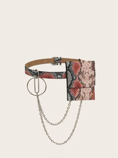 To find out about the Snakeskin Print Fanny Pack at SHEIN, part of our latest Bum Bags ready to shop online today! Fashion Prints, Fanny Pack, Snake Skin, Fashion News, Shopping Bag, Packing, Belt, Patterns, Casual