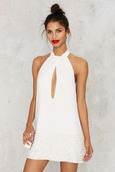 Nasty Gal Carousel Embroidered Dress - Dresses