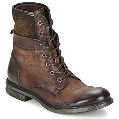 06812f69a233b Boots   Chaussures montantes Dream in Green NASR Marron 350x350 Boots Homme  Cuir, Chaussure Montante