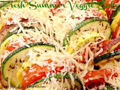 Fresh Summer Veggie Bake - IMG_0080