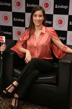 Hazal Kaya at Mumbai Film Festival.