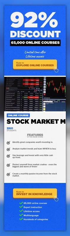 Stock Market Magic Entrepreneurship, Business #onlinecourses #learningphotography #onlinelearningclassroomEverything you need to know about getting started as a stock market investor. Welcome to Stock Market Magic! Stock Market Magic features 7 video modules that will give you the best possible head-start in a stock market investing career. Module 1 - Introduction Module 2 – Stock Market Basic...