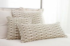 #PineConeHill Links Taupe Decorative Pillow