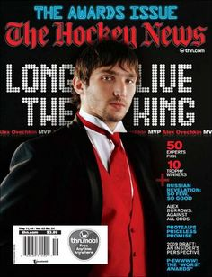 Alex Ovechkin - Long Live The King (THN The Awards Issue: May 11, 2009)