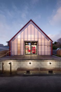 Redcliffs Village Library / Young Architects