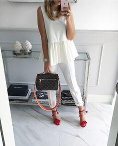 #morning #White Wednesday #blouse Mint Label #stylish #instalook #instagram #instafashion #outfit #style #streetstyle #look #shopping