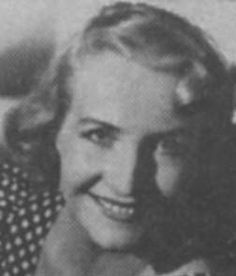 Vera Valtonen 1915-1998. Finnish-Norwegian. In Sweden since 1945.  Sang mezzosoprano with her two sisters in the trio Harmony Sisters (1934-56), the most beloved Finnish singing group of all time. They personified the spirit of the struggle of WWII.