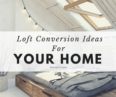 Our list of amazing loft conversion ideas can help you transform your home. Find out about loft conversion costs, adding stairs and more! Loft Spaces, Living Spaces, Living Room, Loft Conversion Cost, Small Attics, Flexible Working, Moving House, Spare Room, At Home Gym