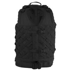 The vest is equipped with our new patented advanced lattice weave system that allows the wearer to mount accessory pouches either vertically or diagonally. Voodoo Tactical, Tactical Vest, Tactical Backpack, Drop Leg Holster, Body Armor Plates, Tac Gear, Military, Pouches, Holsters