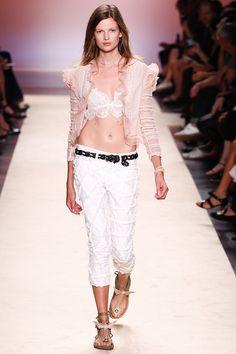 runway-bliss:  Isabel Marant - S/S 2014 RTW Model: Bette Franke