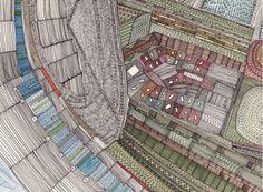 Nigel Peake - his illustrations are magical.