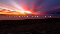 FINLAND | Timelapse Kajaanilainen Riku Karjalainen taltioi Suomen pohjoisesta etelään. Katselisin videon mieluiten Sibeliuksen Finlandian säestyksellä.