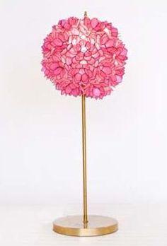 Venus Table Lamp   Hot Pink