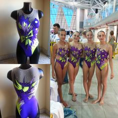 Synchro swimsuits by Natali