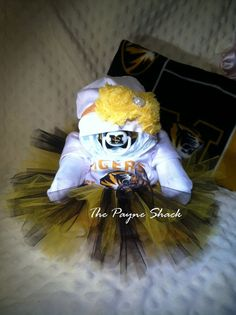 Custom Most Sports Teams Baby Diaper Cake with by ThePayneShack