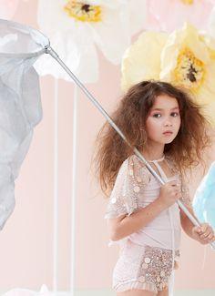 Shimmering ensemble ideal for playtime...