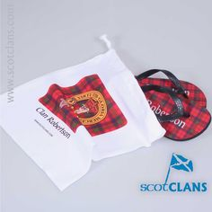 Robertson Tartan Flip Flops  Free Worldwide Shipping Available
