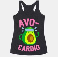 Show off your love of nutrition and fitness with this avocado lover's, fitness and food pun, cardio/workout shirt! Now eat your avocados and go for a run! Wedding Day Shirts, Bridal Party Shirts, Bride Shirts, Bachelorette Party Shirts, Sweatshirt Outfit, Workout Tanks, Workout Wear, Workout Outfits, Gym Outfits