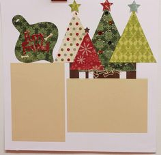 Furry Friend Christmas/ Holiday 12x12 Premade Scrapbook Page by JensMemoryMakers on Etsy
