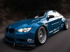 Liberty Walk Widebody M3 Means Business