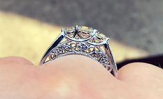 Engagement ring, snowflake ring, amazing engagement ring, custom engagement ring Engagement Wishes, Best Engagement Rings, Snowflake Ring, Pipe Dream, Heart Ring, Anniversary, Jewelry, Jewlery, Wedding Favours