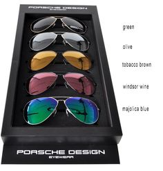 c06b8810744 Aviator shape from Porsche Design in brandnew colors! Porsche Design  Sunglasses