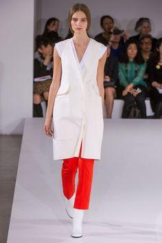 @Jil_Sander #catwalk #MFW #Milano #SS_2013 #mandarina_tango #trends #in