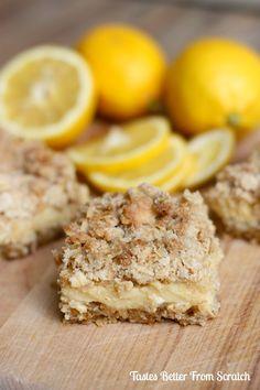 Creamy Lemon Crumb Bars 2