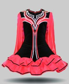 Irish Dance Solo Dress #Irish #Dancing #Costume