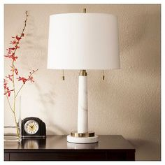 Franklin Table Lamp - Marble (Includes CFL Bulb) - Threshold™