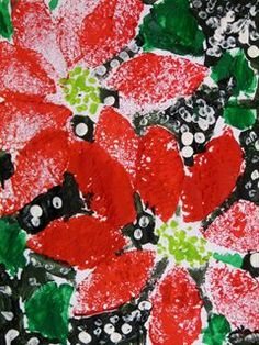 Check out student artwork posted to Artsonia from the Holiday Poinsettias - Kindergarten project gallery at Melvin Avenue Elementary. Art Projects, Projects To Try, Kindergarten Projects, Sponge Painting, Art Lesson Plans, Art Portfolio, Christmas Art, Poinsettia, Art Museum
