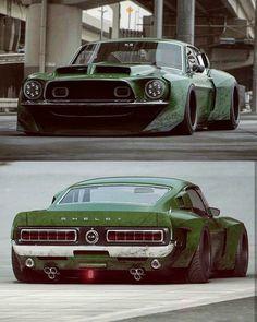 Widebody Shelby rendering Best Luxury Cars