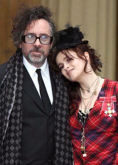 Tim Burton & Helen Bonham Carter