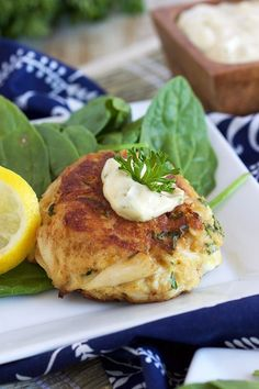The Very Best Crab Cakes Recipe – The Suburban Soapbox Easy to make and light on fillers, these are the Very Best Crab Cakes Recipe! Fresh lump crab meat is turned into the most amazing Maryland crab cake ever! Crab Cakes Recipe Best, Crab Cake Recipes, Fish Recipes, Seafood Recipes, Cooking Recipes, Lump Crab Meat Recipes, Yummy Recipes, Salad Recipes, Dinner Recipes