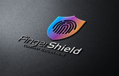Finger Shield Logo by eSSeGraphic on Creative Market