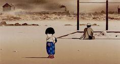 oh-totoro - Posts tagged Grave of the Fireflies Studio Ghibli Art, Studio Ghibli Movies, Hotaru No Haka, Isao Takahata, Grave Of The Fireflies, Japanese Animated Movies, Mother Daughter Relationships, Fictional World, Hayao Miyazaki