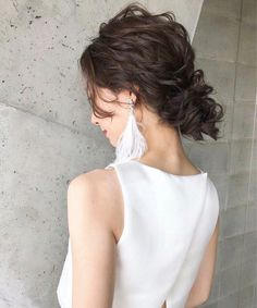 Casual Hairstyles, Bride Hairstyles, Bridal Makeup, Bridal Hair, Up Styles, Long Hair Styles, Hair Arrange, Hair Jewelry, Bridal Style