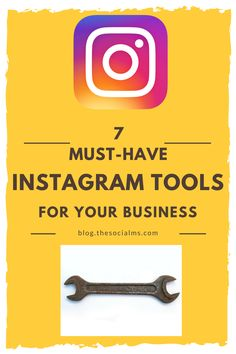 There are a number of awesome Instagram tools that can help you to use Instagram more effectively and quickly. Here are 7 must have Instagram tools. online marketing tools, blogging tools, social media tools