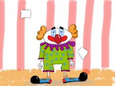 Clown Family Guy, Guys, Fictional Characters, Art, Drawings, Kunst, Sons, Fantasy Characters, Boys