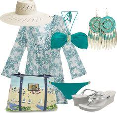 """Vamos a la Playa"" by outfits-de-moda2 on Polyvore"
