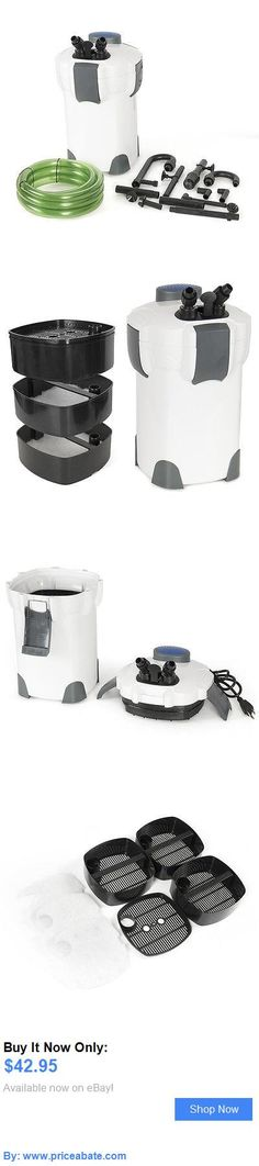 Animals Fish And Aquariums: Fish Canister External 3 Stage Filter Pump For Aquarium Pond Pump Fish Tank New BUY IT NOW ONLY: $42.95 #priceabateAnimalsFishAndAquariums OR #priceabate