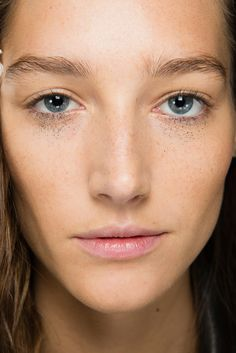 Anthony Vaccarello Spring 2015 Ready-to-Wear - Beauty - Gallery - Style.com