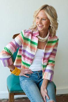 Club Jacket by DevonBaerDesigns on Etsy, $218.00